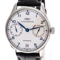 IWC IW500107 Steel 2015 Portuguese Automatic 42mm pre-owned