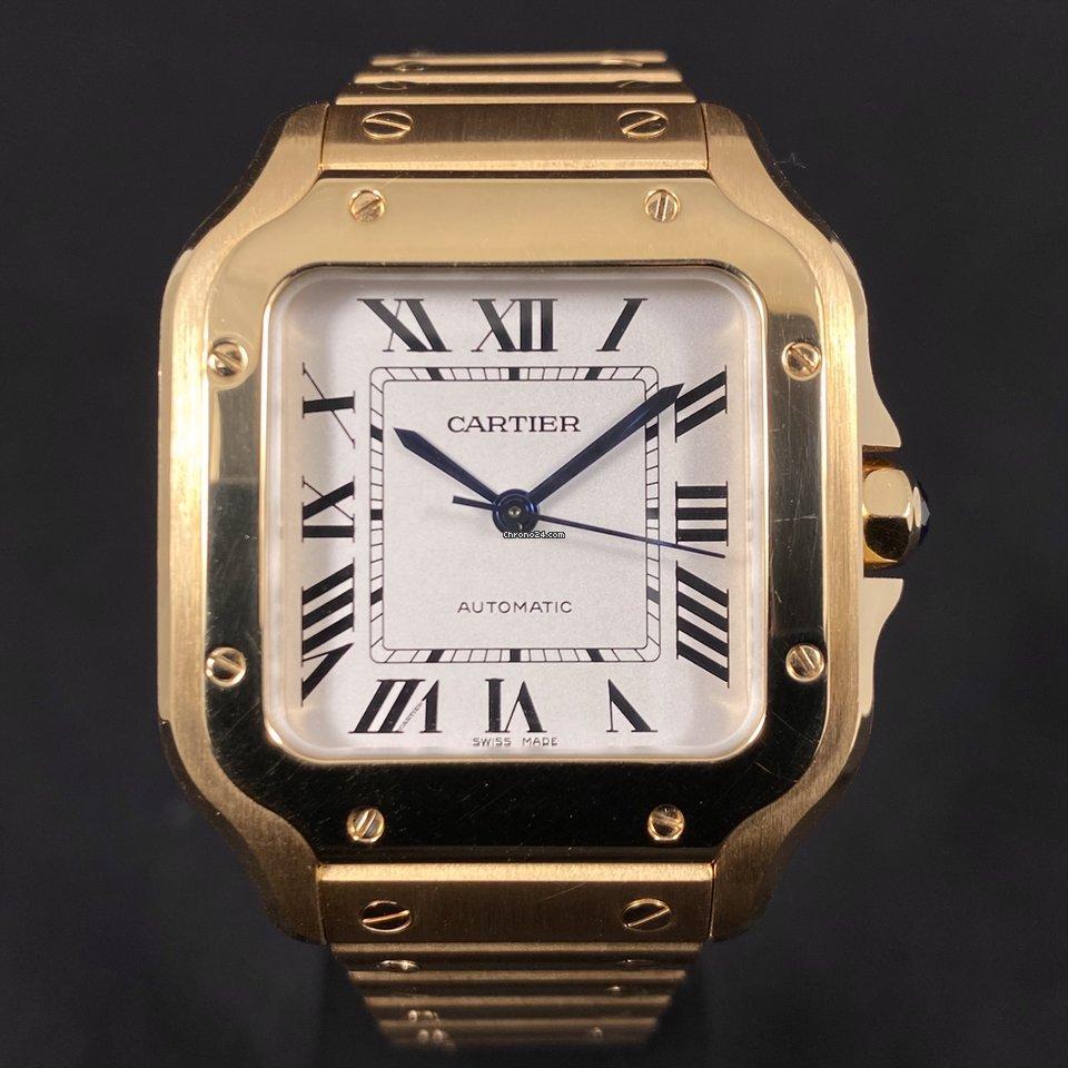 Cartier Santos (submodel) WGSA0010 2020 usado