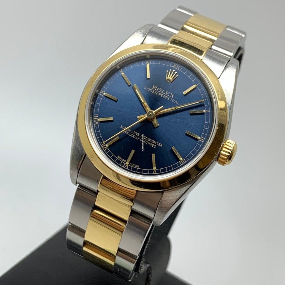 Rolex Oyster Perpetual 31mm Gold Steel FULL SET LC EU