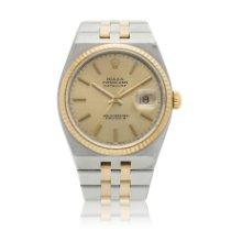 Rolex Datejust Oysterquartz Gold/Stahl 36mm Champagnerfarben