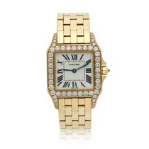 Cartier Santos Demoiselle Yellow gold 37mm Champagne United States of America, New York, New York