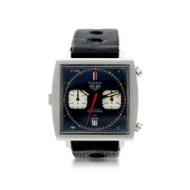 Heuer Steel 46mm Automatic United States of America, New York, New York