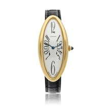 Cartier Baignoire Yellow gold 47mm Silver United States of America, New York, New York