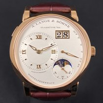 A. Lange & Söhne pre-owned Manual winding 38.5mm Silver Sapphire crystal 3 ATM