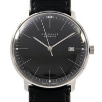 Junghans max bill Automatic pre-owned 38mm Black