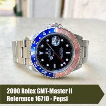 Rolex 16710 Steel 2000 GMT-Master II 40mm pre-owned United States of America, Florida, Coral Gables