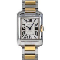 Cartier Tank Anglaise Gold/Steel 23mm Silver Roman numerals United States of America, Maryland, Baltimore, MD