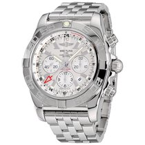 Breitling Chronomat GMT Steel 47mm Silver No numerals United States of America, New York, Greenvale