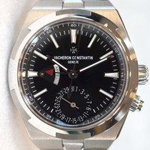 Vacheron Constantin Overseas Dual Time Steel 41mm Black No numerals
