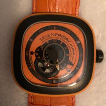 Sevenfriday Steel 48mm Automatic SF-P1/03 pre-owned United States of America, Texas, Bedford