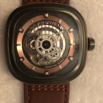 Sevenfriday 47mm Automatic P2B/03-W Woody (RARE LIMITED EDITION) pre-owned United States of America, Texas, Bedford