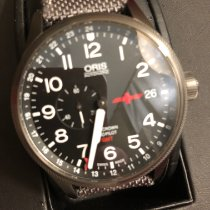 Oris Big Crown ProPilot GMT Steel 45mm Black Arabic numerals United States of America, Texas, Bedford