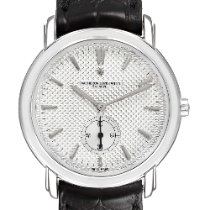 Vacheron Constantin White gold Manual winding 36mm pre-owned Malte
