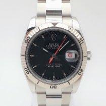 Rolex Datejust Turn-O-Graph Acciaio 36mm Nero Senza numeri Italia, bologna