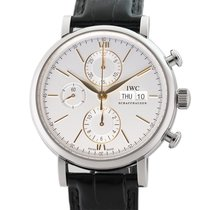 IWC Portofino Chronograph new Automatic Chronograph Watch with original box and original papers IW3910-31