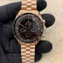 Omega 310.60.42.50.01.001 Růžové zlato 2021 Speedmaster Professional Moonwatch 42mm nové