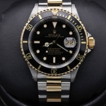 Rolex 16613 Gold/Steel 1996 Submariner Date 40mm pre-owned United States of America, California, Huntington Beach