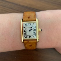 Cartier W1529856 Yellow gold 2008 Tank Louis Cartier 29.5mm pre-owned