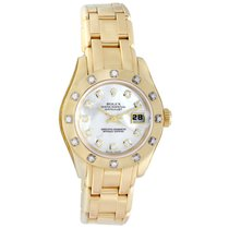 Rolex Lady-Datejust Pearlmaster Yellow gold 29mm Mother of pearl Canada, Vancouver
