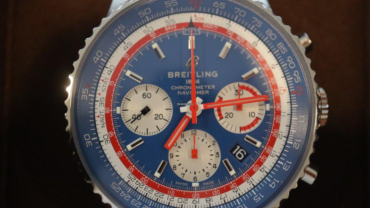 Breitling Navitimer 1 B01 Chronograph 43 AB01212B1C1A1 2020 nieuw