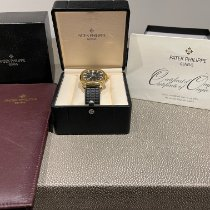 Patek Philippe Yellow gold Automatic Black Arabic numerals 38mm pre-owned Aquanaut