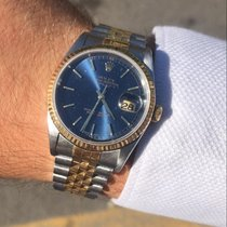 Rolex Datejust usados 36mm Azul Fecha Acero y oro