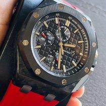 Audemars Piguet Royal Oak Offshore Chronograph Carbon 44mm Black No numerals United States of America, New York
