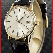 Omega Genève Gold/Steel 35mm Silver No numerals