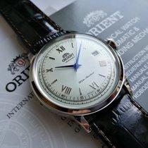 Orient (オリエント) バンビーノ ステンレス 40.5mm ホワイト ローマインデックス