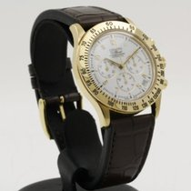 Zenith El Primero Chronograph Желтое золото 40mm Белый