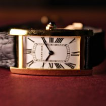 Cartier Tank (submodel) Yellow gold 19mm White Roman numerals Singapore