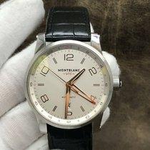 Montblanc Timewalker Steel 42mm Silver Arabic numerals United States of America, New York, New York