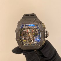 理查德•米勒 RM 011 碳 49.94mm 透明 阿拉伯數字