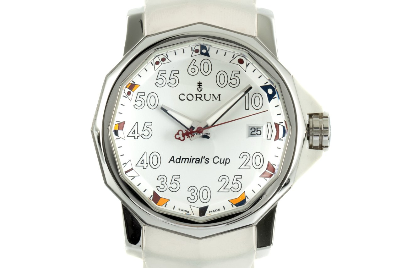 Corum Admiral's Cup (submodel) 01.0010 2005 pre-owned