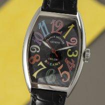 Franck Muller Color Dreams Ocel 39mm Černá