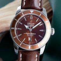 Breitling Superocean Heritage 46 Steel 46mm Brown