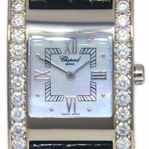 Chopard White gold Quartz Mother of pearl 24mm pre-owned Your Hour