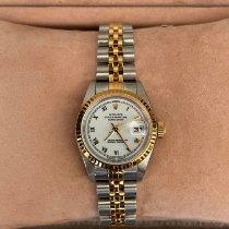 Rolex Oyster Perpetual Lady Date Acero y oro 26mm Blanco México, Puebla