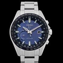 Seiko Astron GPS Solar Chronograph Steel 45.4mm Blue United States of America, California, Burlingame