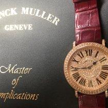 Franck Muller Açık kırmızı altın 38mm Quartz 8038 QZ RD CD ikinci el Türkiye, Istanbul