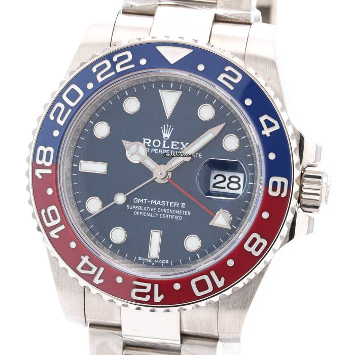 Rolex (ロレックス) GMT マスター II 116719BLRO 中古