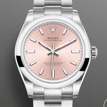 Rolex Oyster Perpetual 31 Steel 31mm Pink No numerals United Kingdom, Shrewsbury