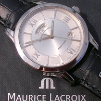 Maurice Lacroix PT6058 Steel Pontos Day Date 40mm pre-owned
