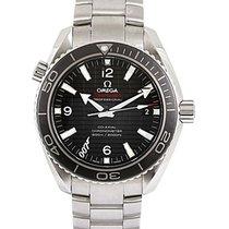 Omega Seamaster Planet Ocean Steel 42mm Black Arabic numerals
