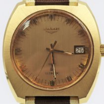 Longines Ultronic Yellow gold 42mm Gold No numerals
