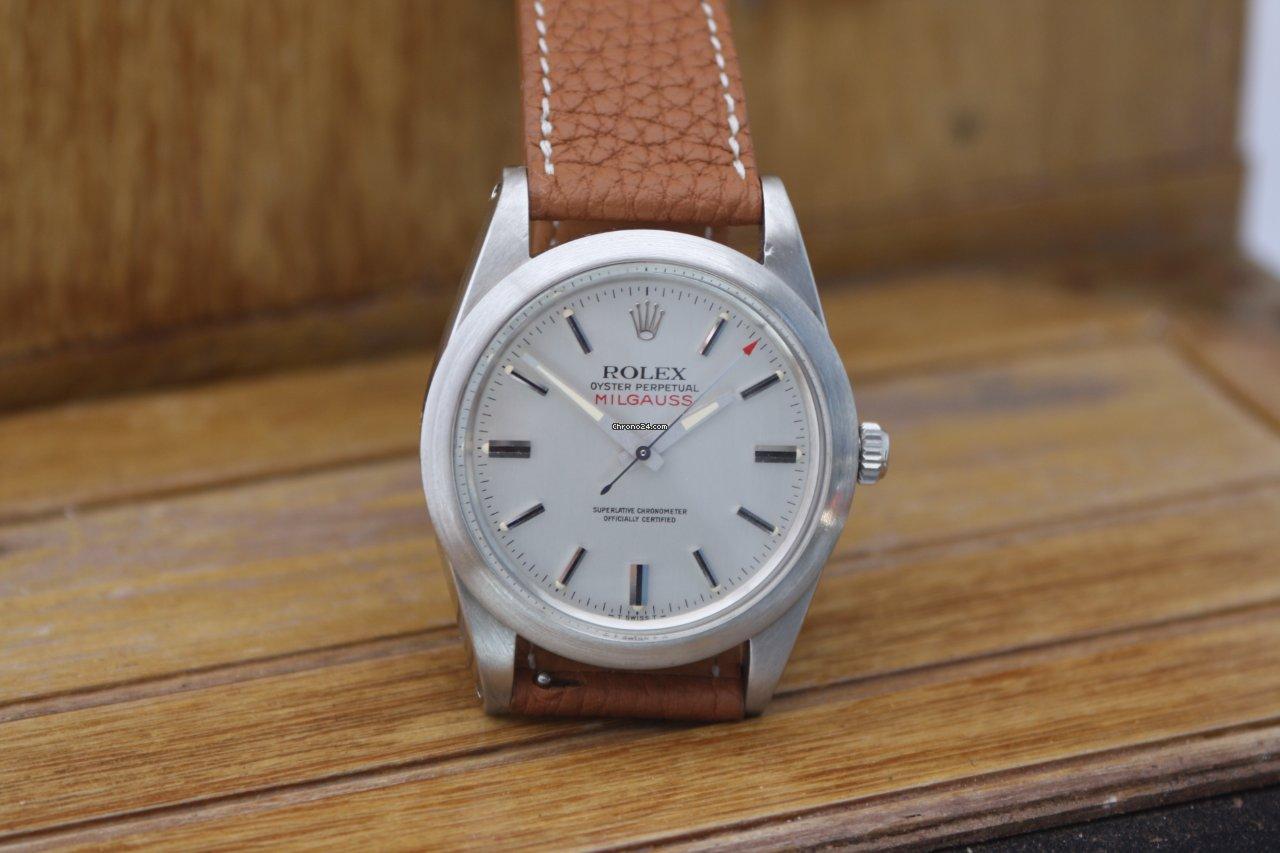 Rolex Milgauss 1019 1968 tweedehands
