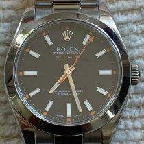 Rolex Milgauss Steel 40mm Black No numerals United States of America, California, LOS ANGELES