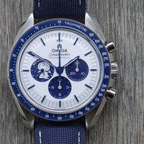 Omega Speedmaster Steel 42mm Silver No numerals Australia