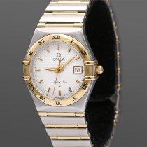 Omega Constellation Quartz Gold/Steel 27,5mm Silver Roman numerals