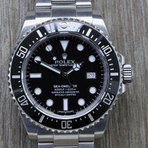 Rolex Sea-Dweller 4000 Steel 40mm Black No numerals Australia